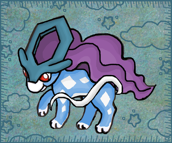 Chibi-Suicune by Sabbochan
