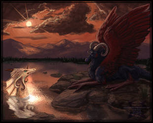 Dragons - Redux by ParanoidNebula