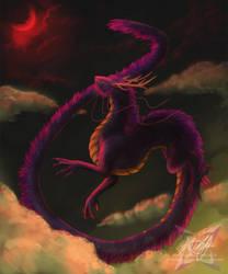 A Crimson Light by ParanoidNebula