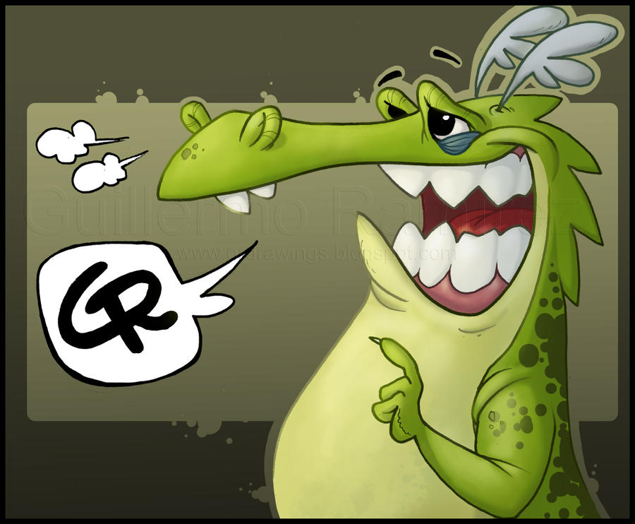 Dragon...grrr by GuillermoRamirez