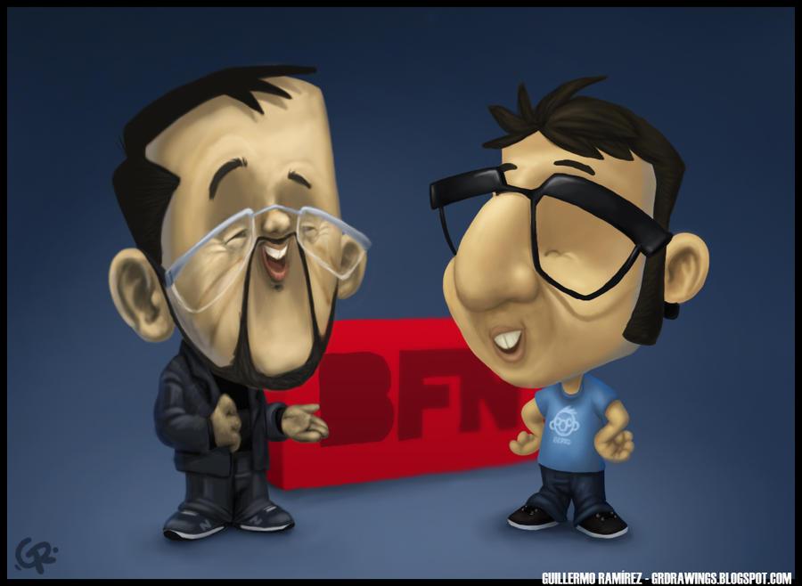 Caricatura BFN by GuillermoRamirez