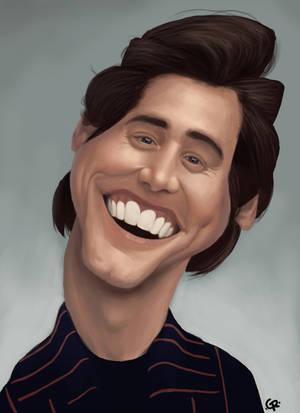 Jim Carrey caricature