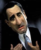Robert De Niro Caricature by GuillermoRamirez