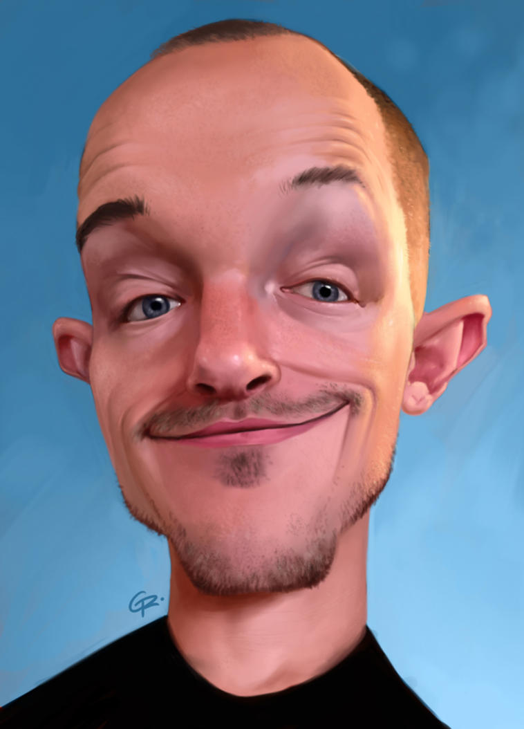Commission caricature by GuillermoRamirez
