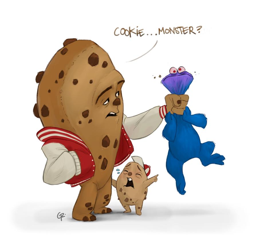 Cookie monster porn