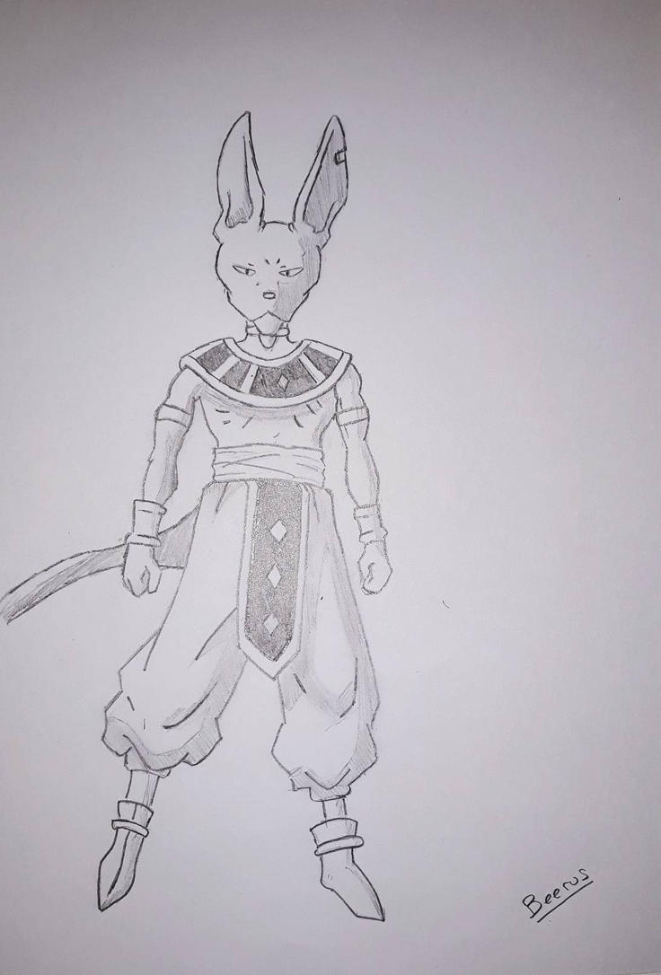 Beerus by Leaxel28