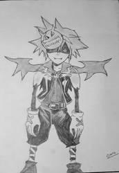 Sora Halloween version by Leaxel28