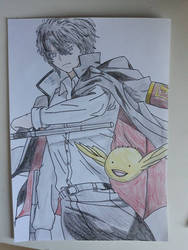 Hibari Kyouya (Colored) by Leaxel28