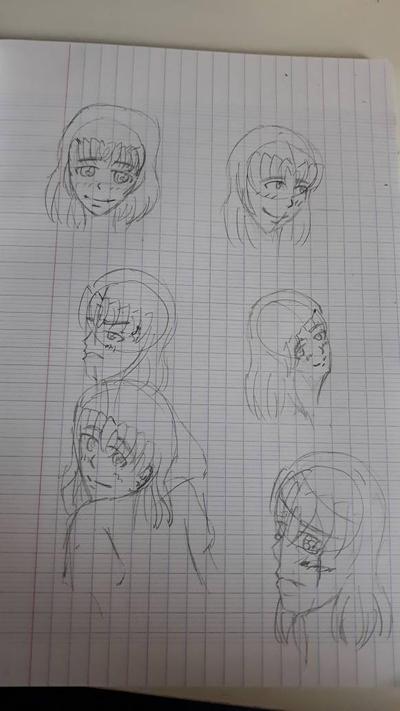 sketch Kinako by Leaxel28