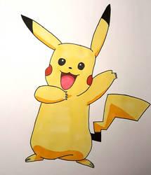 Pikachu by Leaxel28