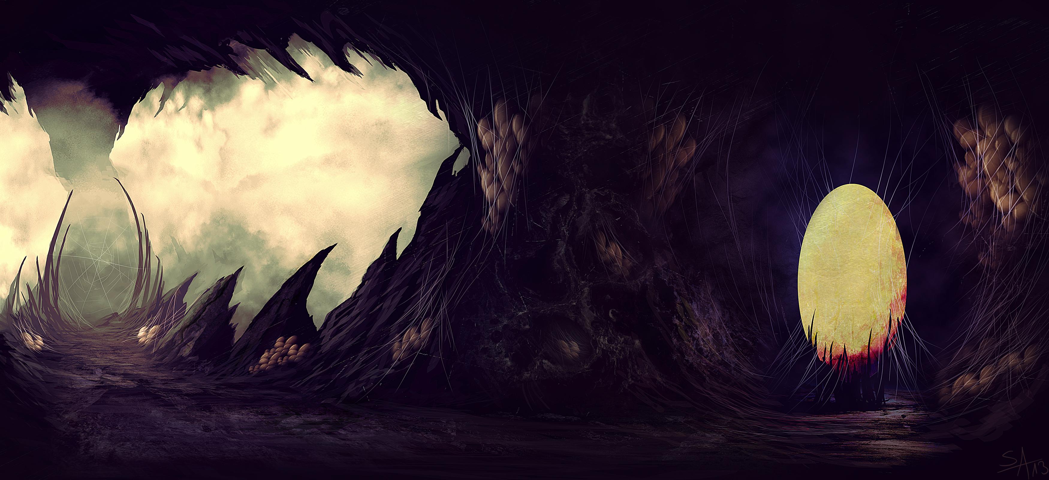 Arachnoid Nest by ShahabAlizadeh
