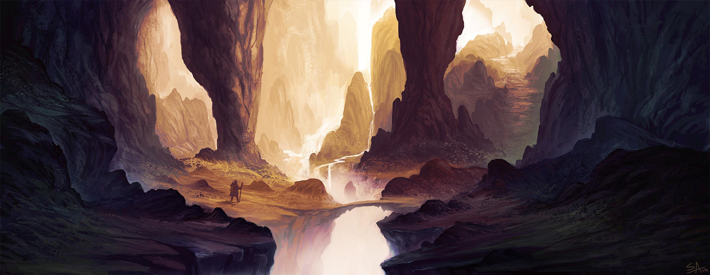 Sacred Ravine by ShahabAlizadeh
