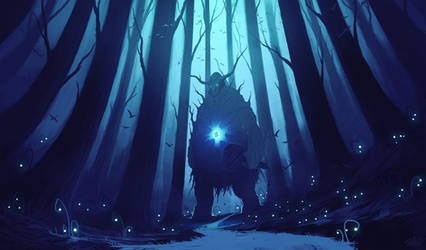 The Forest Spirit by ShahabAlizadeh