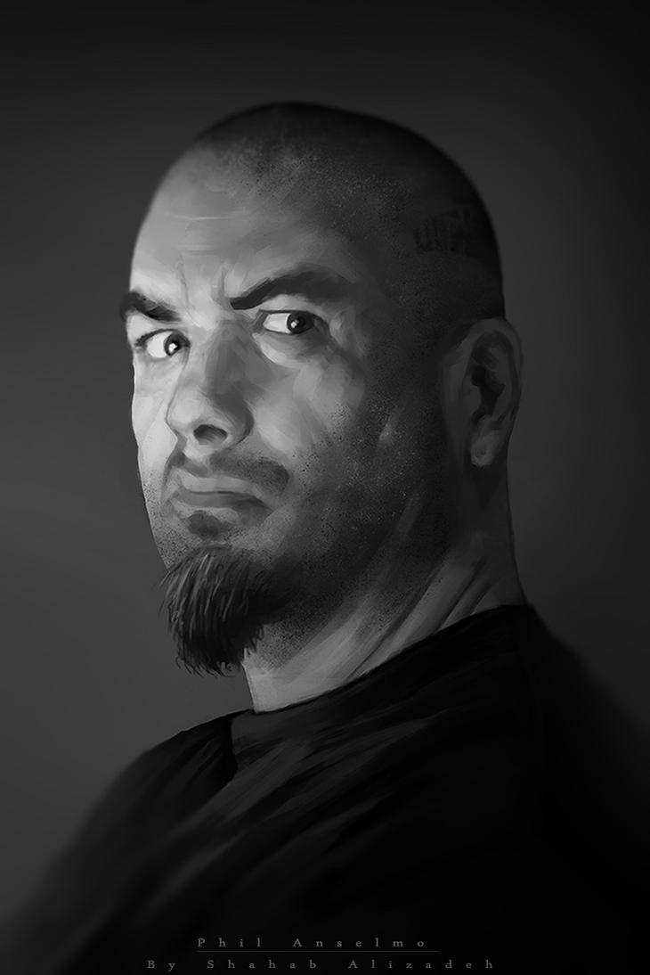 Phil Anselmo (Pantera) by ShahabAlizadeh
