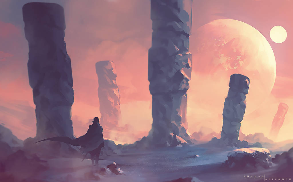 Solitude by ShahabAlizadeh