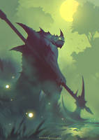Swamp Beast by ShahabAlizadeh
