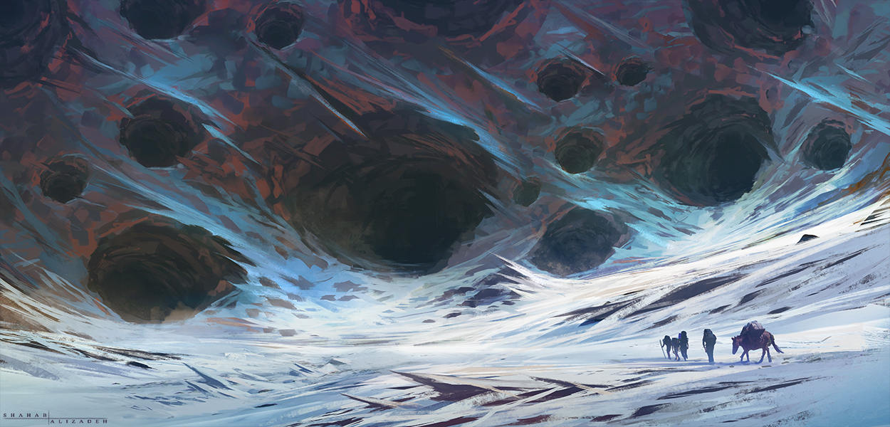 Frost Crater by ShahabAlizadeh