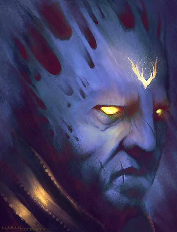 Dark Priest by ShahabAlizadeh