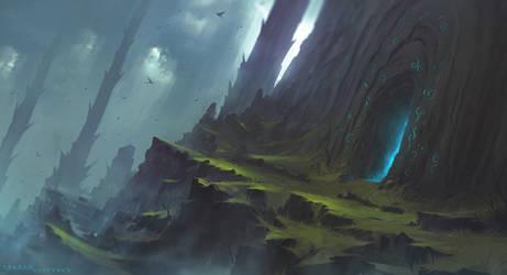 Dragon's Peak by ShahabAlizadeh