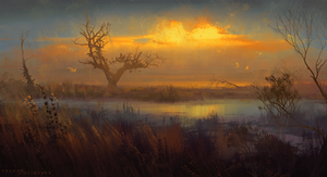 Marshlands sketch