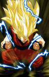 Goku Ssj3 Manga 29 Dragon ball Sper