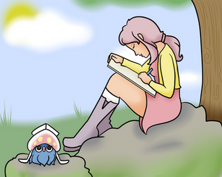 PTS: Drawing in the sunshine~ by Supertato