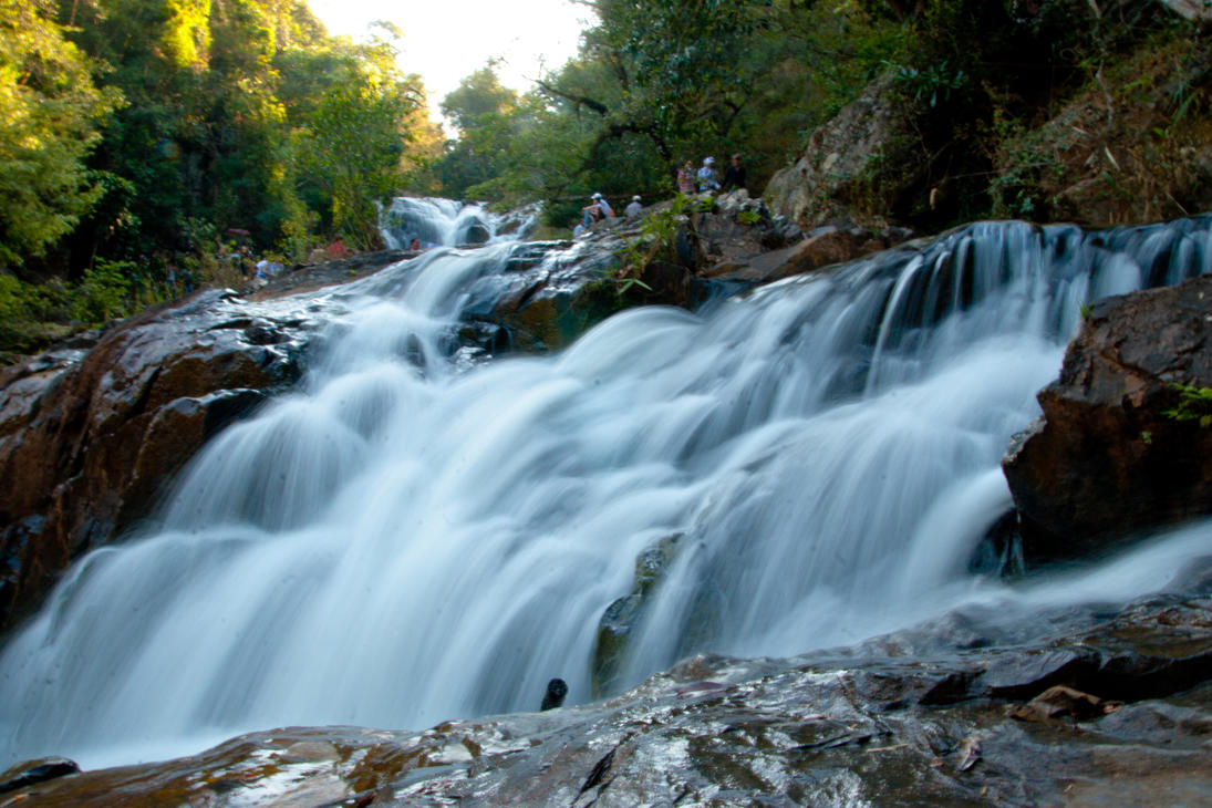 Dalat's Datanla Waterfall Destination