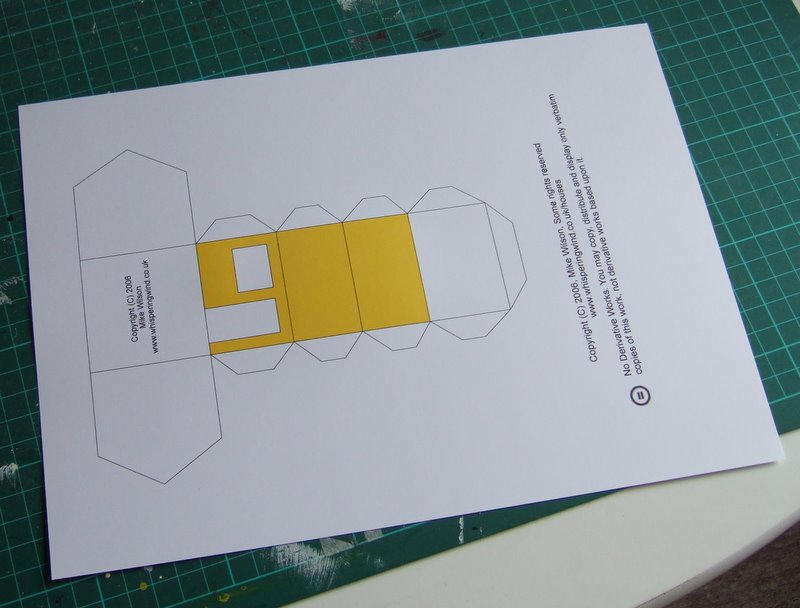 Make Your Own Paper House By Mikewilsonuk On Deviantart