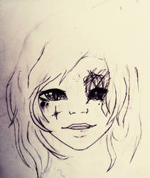 why. do. I. always. mess. up. the. second. eye. by Art-Is-My-Waifu