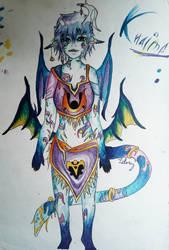 my OC - Khaima (full) by Art-Is-My-Waifu