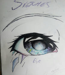 Crystal eye. by Art-Is-My-Waifu