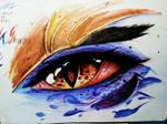 League of Eyes - 4. Shyvana | the half dragoness by TristiaTenshiART