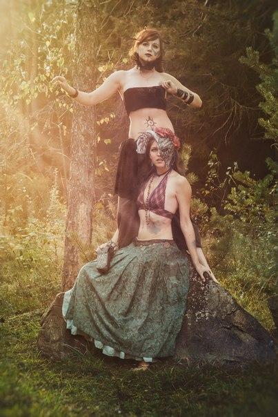 Shaman sisters by AppolinaryI