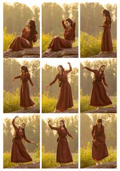 Sunrising dance