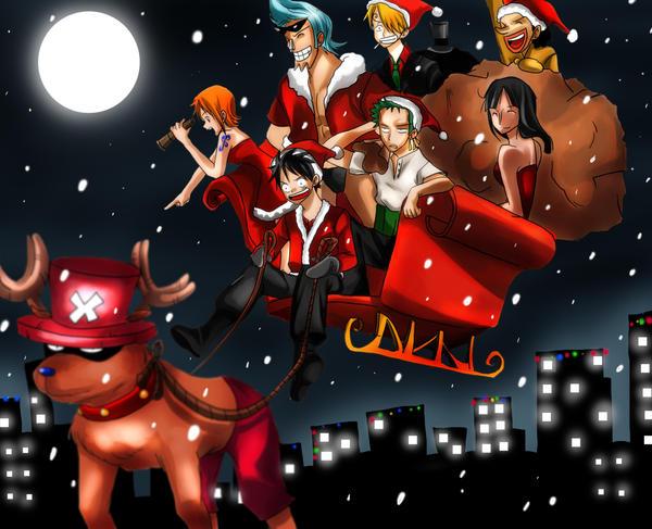 One piece - Merry xmas