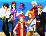 Fairy Tail+One piece -colored-