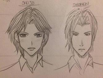 Shojo / Shonen by ChaoKitty