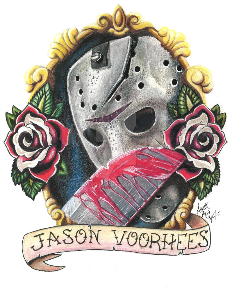 jason voorhees tattoo design by chaokitty on deviantart. Black Bedroom Furniture Sets. Home Design Ideas