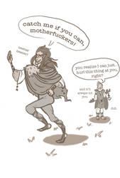 Loki's Poncho- Sketch