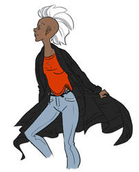 Ororo In My Clothes