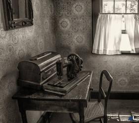 Grandma's sewing corner