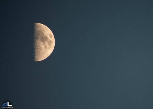 Half Moon - 8:10pm, Aug. 24th 2012