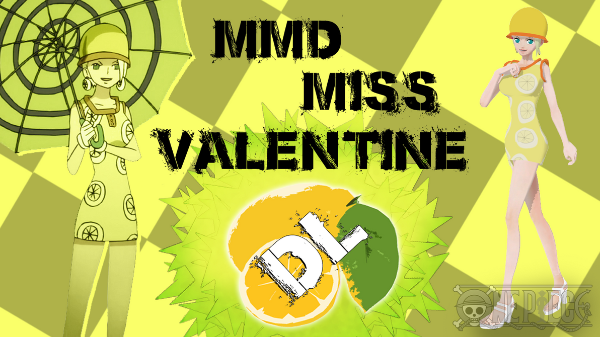 MMD One Piece Miss Valentine By Friends4Never ...