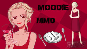 MMD One Piece Moodie DL