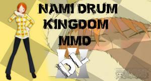 MMD One Piece Nami Drum Kingdom DL