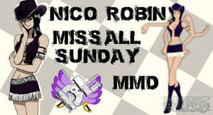 MMD Nico Robin Miss All Sunday DL