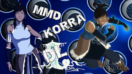 MMD Legend of Korra DL