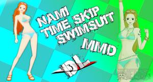 MMD Nami Timeskip Swimsuit DL