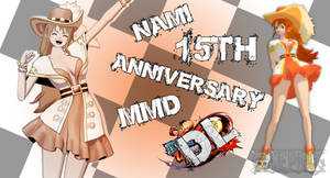 MMD One Piece Nami 15th Anniversary DL (Updated)