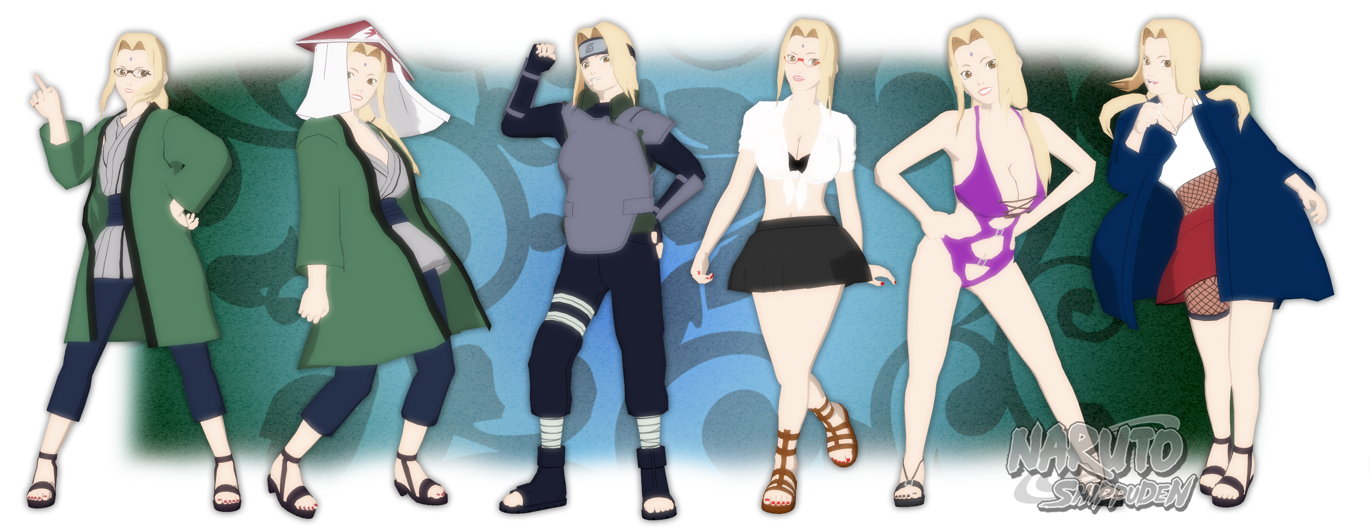 [3] MMD Naruto Model Index by leaopardheart on DeviantArt